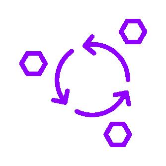 Qrious_Icons Set_Ultraviolet_Continuous Deployment