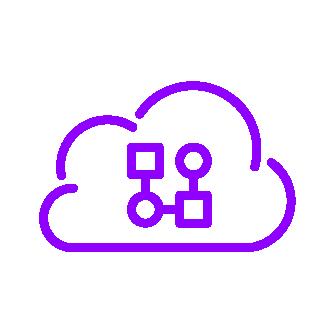 Qrious_Icons Set_Ultraviolet_Modern data platform